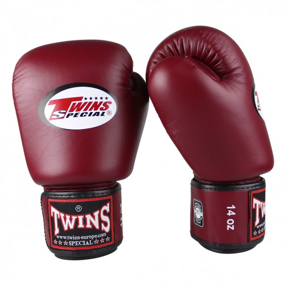 Twins BGVL3 WINE RED training (kick)bokshandschoenen