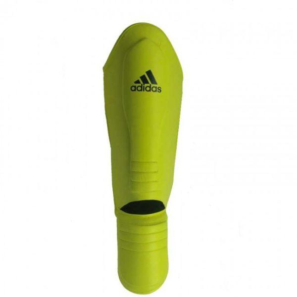 Adidas Hybrid Super Pro Scheenbeschermer geel/blauw
