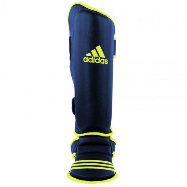 Adidas scheen- en wreefbeschermers economy blauw/geel