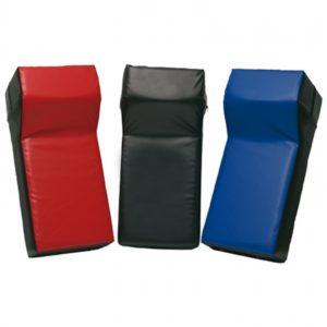 Sportief trap/stootkussen met hoek 75 x 35 x 25-15 cm