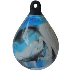 Waterpro punchbag zwart/blauw/wit