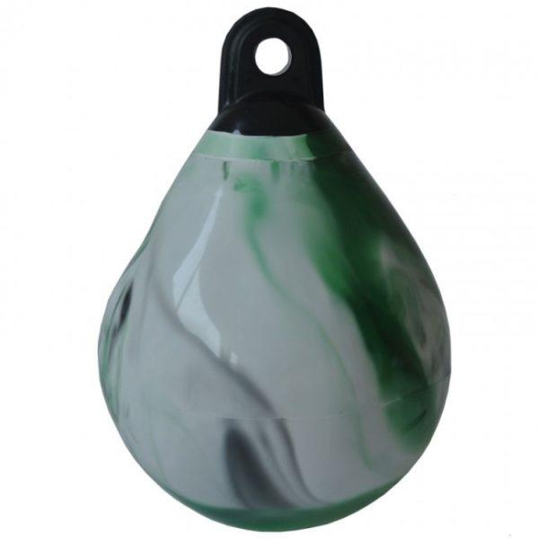 Waterpro punchbag zwart/groen/wit