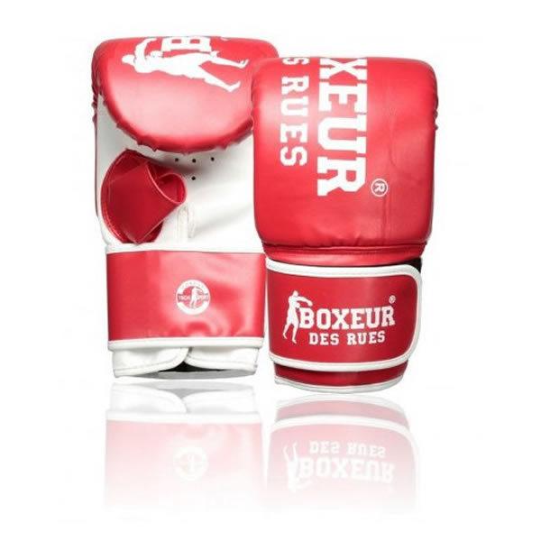 Boxeur des rues training bokszakhandschoen rood