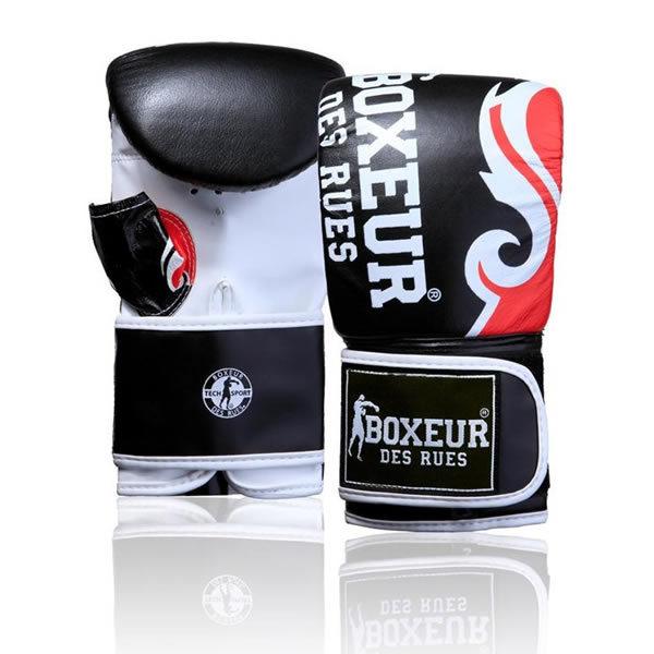 Boxeur des rues tribal logo bokszakhandschoen rood