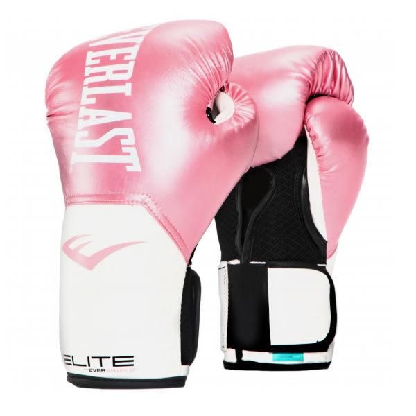Everlast elite pro style 2 (kick)bokshandschoen zwart