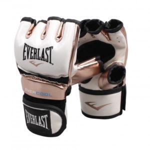 Everlast everstrike mma training handschoen wit/goud