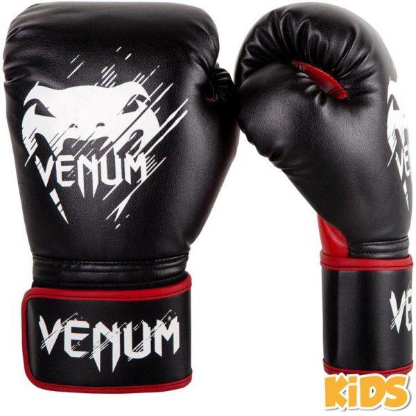 Kinder (kick)bokshandschoenen van Venum Contender.