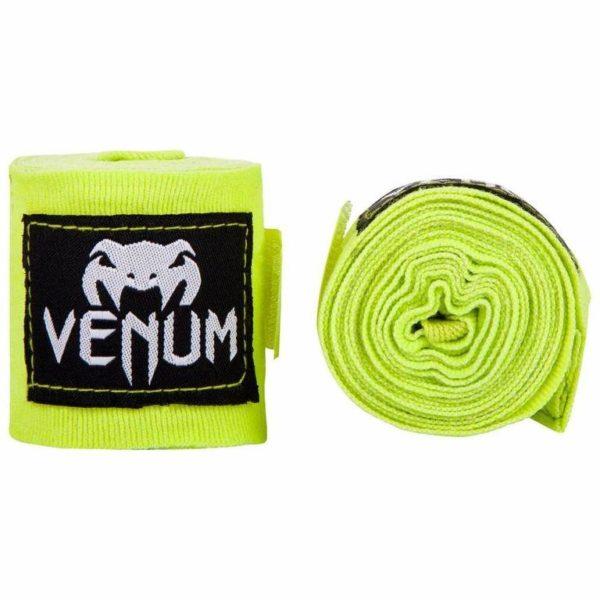 Gele bandages 2.5m van Venum.