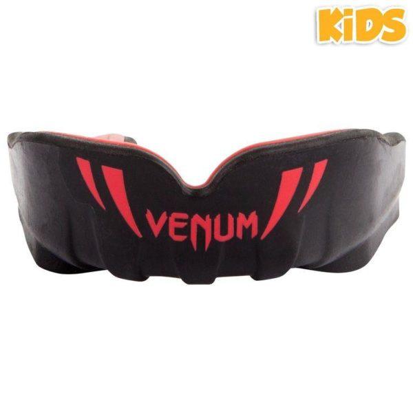 Zwart rode gebitsbeschermer voor kinderen van Venum challenger.