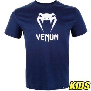 Blauw t-shirt voor kids van Venum classic.