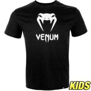 Zwart t-shirt voor kids van Venum classic.