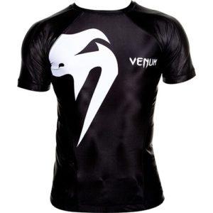 Zwarte rashguard van Venum giant.