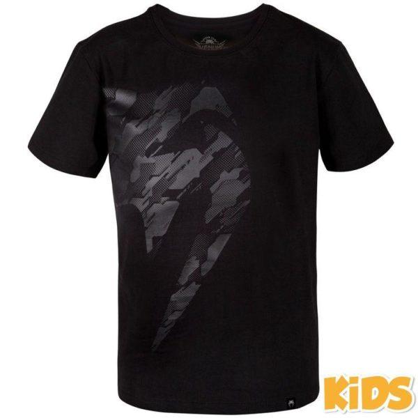 Zwart t-shirt voor kids van Venum tecmo giant.