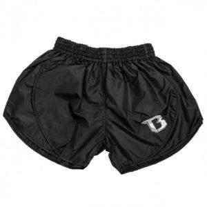 Zwart retro hybrid thai- en kickboks broekje van Booster.