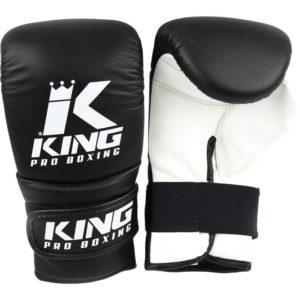 Leren bokszakhandschoenen van King.