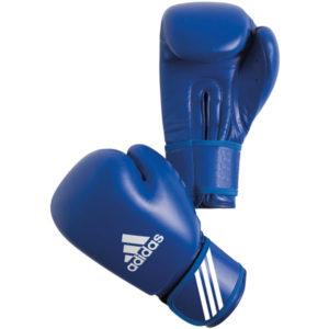 Adidas AIBA bokshandschoenen blauw