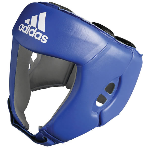 Adidas AIBA hoofdbeschermer blauw