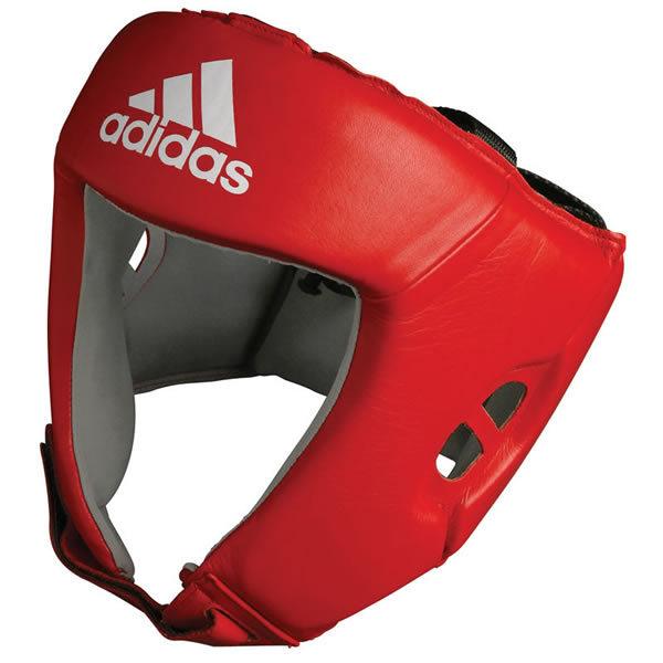 Adidas AIBA hoofdbeschermer rood
