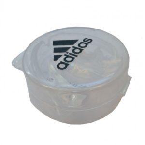 Adidas dubbel bitje / mondbeschermer transparant