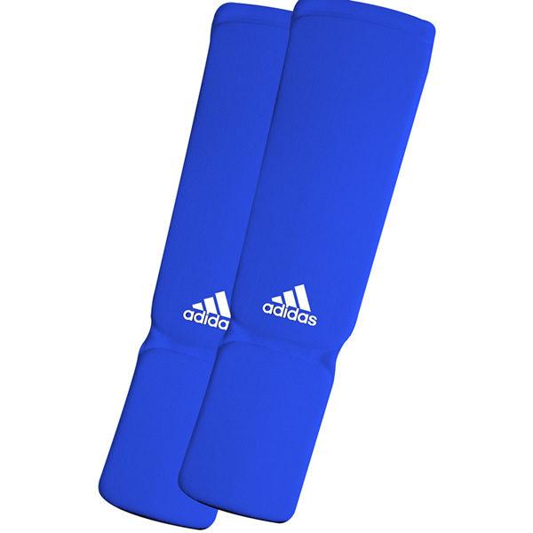 Adidas elastische scheenbeschermers blauw