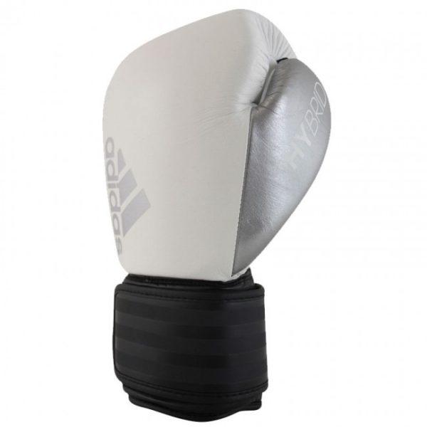 Adidas hybrid 200 (Kick)Bokshandschoenen Zwart/Wit/Zilver