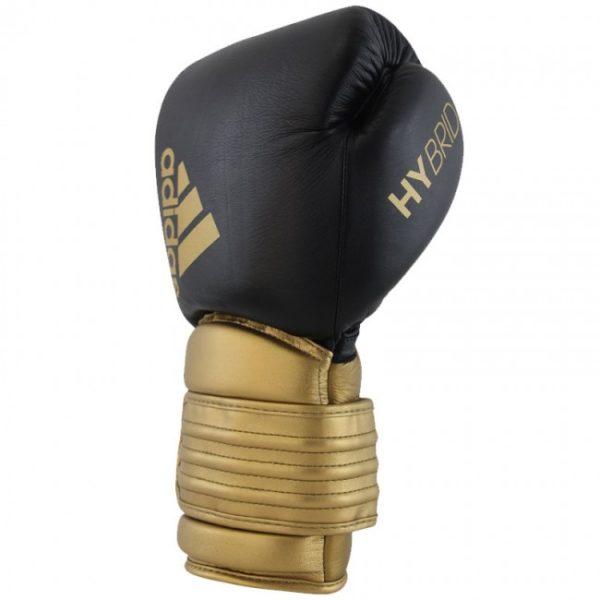 Adidas hybrid 300 (Kick)Bokshandschoenen zwart-goud