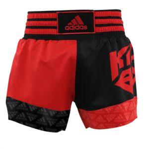 Adidas Kickboksshort SKB02 Rood/Zwart