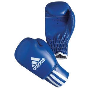 Adidas rookie kinder (kick)bokshandschoenen blauw