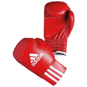 Adidas rookie kinder (kick)bokshandschoenen rood