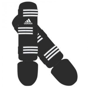 Adidas scheen- en wreefbeschermers Good Zwart-Wit