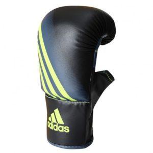 Adidas speed 100 bokszakhandschoenen zwart-geel