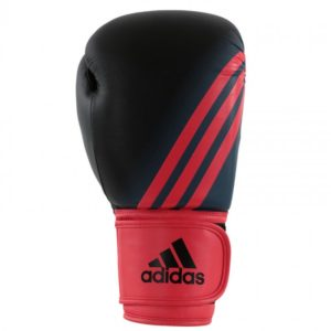 Adidas speed 100 (kick)bokshandschoenen Zwart/Shock Red Women