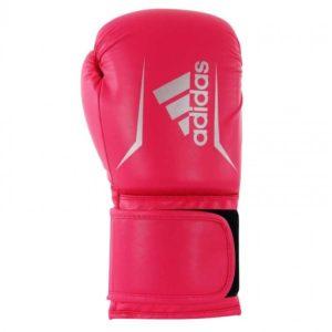 Adidas Speed 50 (Kick)Bokshandschoenen Roze/Zilver