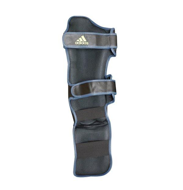Adidas Speed Super Pro Scheenbeschermers Zwart/Geel