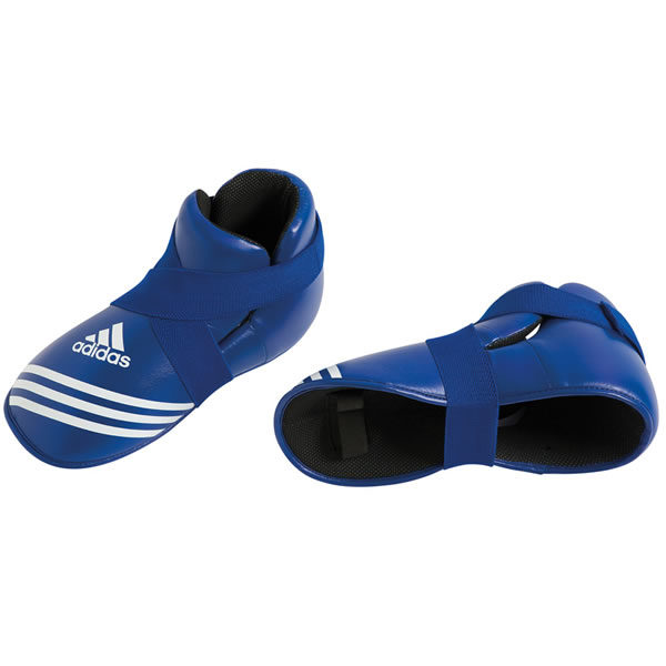 Adidas super safety kick voetbeschermers blauw
