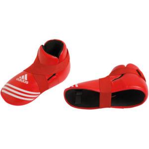Adidas super safety kick voetbeschermers rood
