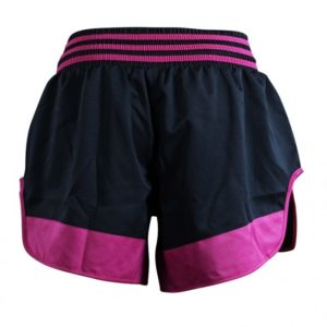 Adidas Thaiboksshort Micro Diamond Zwart/Roze