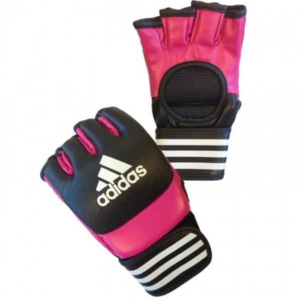 Adidas Ultimate MMA Handschoenen Roze/Zwart