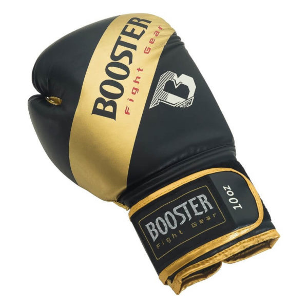 Booster BT sparring gold stripe (kick)bokshandschoenen