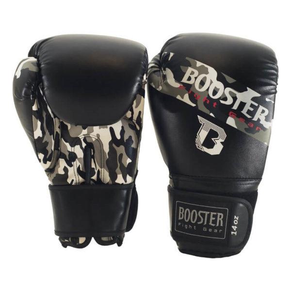 Booster BT Sparring (kick)bokshandschoenen Camo Grijs