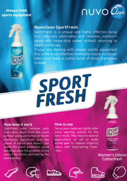 Nuvo Sport Fresh Equipment Women edition