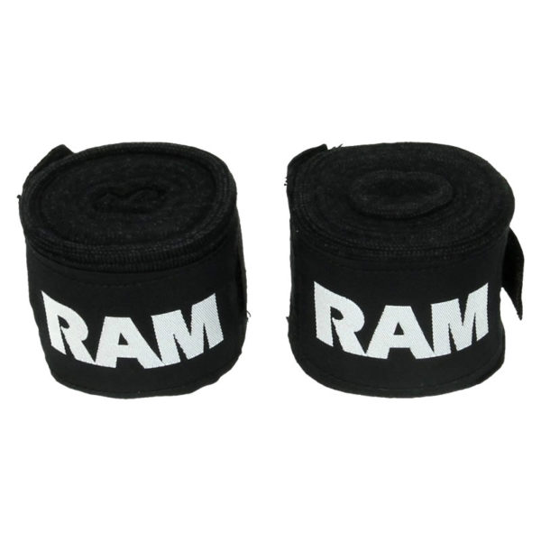 RAM bandages zwart 450 cm