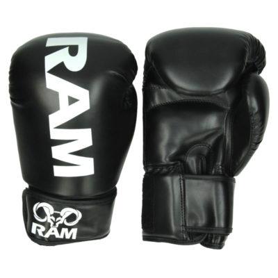 RAM PRO 1 Black-White (kick)bokshandschoenen
