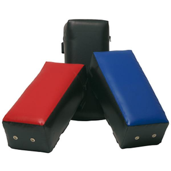Sportief armpad 45 x 20 x 15 cm blauw