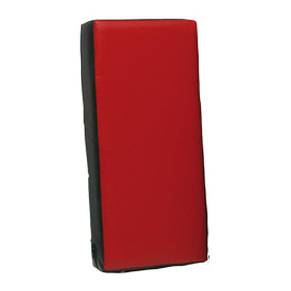 Sportief trap- en stootkussen 60 x 30 x 15 cm rood