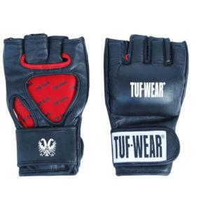 Tuf wear MMA grappling handschoenen 4oz van leer