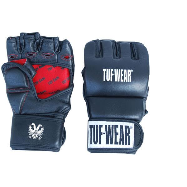 Tuf wear MMA grappling training handschoenen 7oz van leer