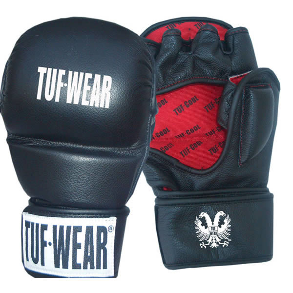 Tuf wear MMA strike training handschoenen 7oz van leer