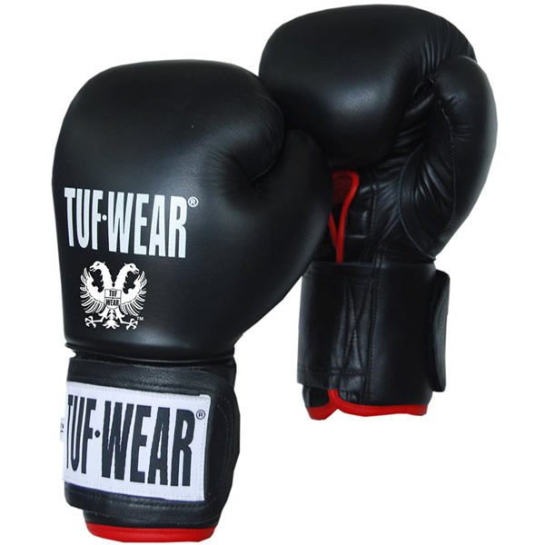 Tuf wear safety spar (kick)bokshandschoenen leder