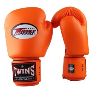 Twins BGVL 3 (kick)bokshandschoenen Oranje